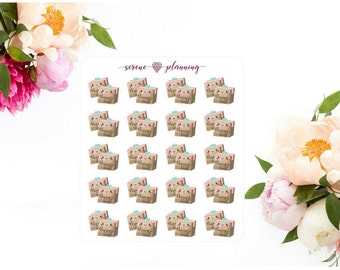 SP-114 Happy Mail Package Planner Stickers
