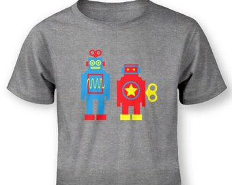 Wind Up Robots baby t-shirt