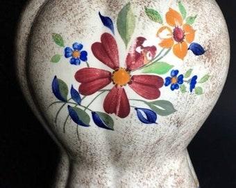 Boch Freres Keramis-Charles Catteau-vase with floral motifs