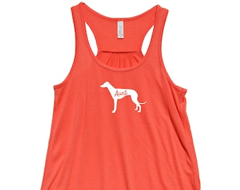 "Whippet ""AUNT"" -  Fit or Flowy TANK"