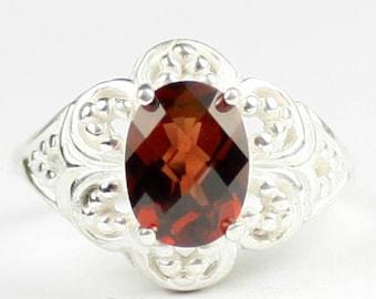 Mozambique Garnet, 925 Sterling Silver Ladies Ring, SR125