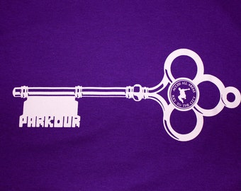Key to the City - Parkour T-Shirt - Purple