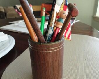 Desk Set vintage Pencil Holder