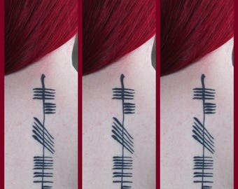 Buy 2, Get 1 Free: Ogham Tattoo Consideration JPEGs