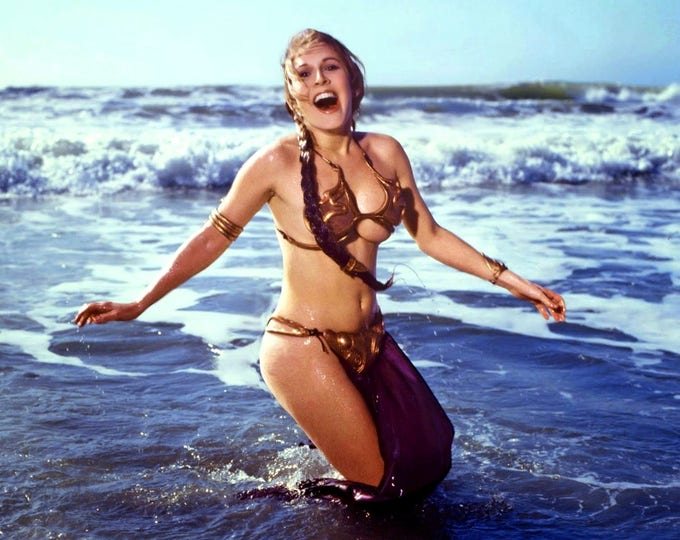 "Actress Carrie Fisher as ""Princess Leia"" in the Film ""Star Wars"" Pin Up - 8X10 or 11X14 Publicity Photo (FB-158)"