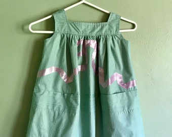 Jazz Age Lawn Party dress, for a 5 year old!