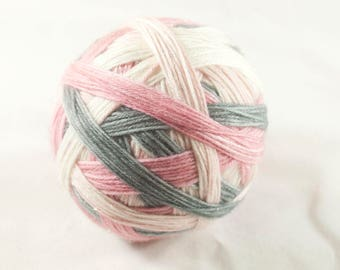 Garland  Self Striping  Sparkle Merino / Nylon Sock Yarn
