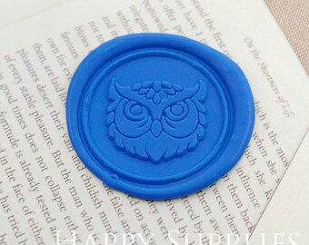 Buy 1 Get 1 Free - 1pcs Owl Gold Plated Wax Seal Stamp (WS389)
