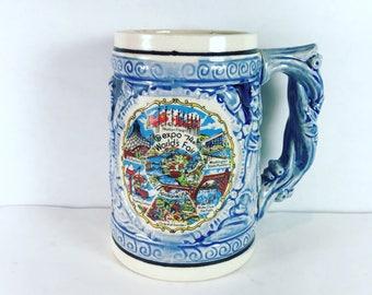 Vintage 1974 worlds fair expo Spokane beer mug stein