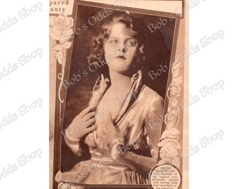 Instant Download Vintage Photo Woman 1920's Digital Download