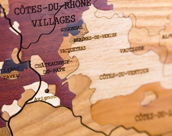 Marquetry, RHONE VALLEY wines