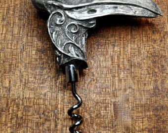 Raven Skull Corkscrew