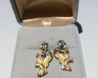Vintage Eagle Earrings