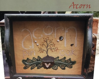 So Sweet Acorn Counted Cross Stitch Leaflet