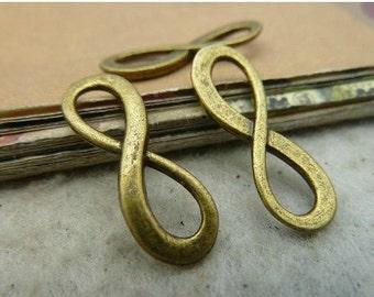 10 pcs 8x23mm The Antique Bronze Retro Pendant  Charm For Jewelry Pendants C3028