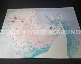 Last Unicorn Illustration (print)
