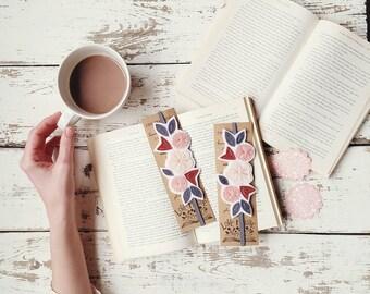 Band Bookmark - Unique Bookmark - Bookworm Gift - Planner Bookmark - Planner Band - Teacher Bookmark - Elastic Bookmark - Reader Gift