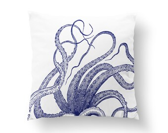Octopus Pillow - Octopus Throw Pillow | Octopus Cushion | Octopus Decoration | Octopus Pillow Cover | Octopus Décor | Octopus Gift
