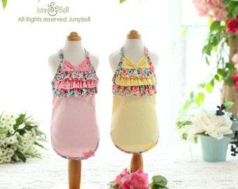 Free USA Shipping /Ceci -Handmade Dress for Pets / Summer Dress / Pink Dress