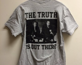 The Truth Is Out There - Youth Crew Tee Shirt [LIMITED GREY]