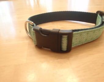 Minty Chic dog collar