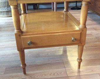 Willett Solid Maple End Table