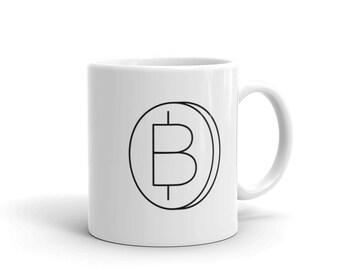 Bitcoin Coin Coffee Mug