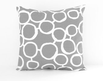 Grey Pillow Cover Decorative Pillow 8 Sizes Cushion Cover Accent Pillow