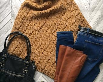 Crochet Poncho/ Crochet Pattern/ Crochet Shrug/ Crochet Bolero/ Crochet pattern digital file/