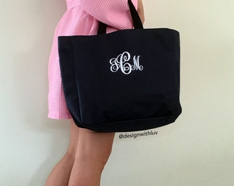 Bridesmaid tote, Bridesmaid bag, personalized tote bag, monogrammed tote bags, bridesmaid gift, bridal party gift, mother of the bride gift