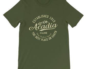 Acadia National Park Short-Sleeve Men's T-Shirt Hiking near me