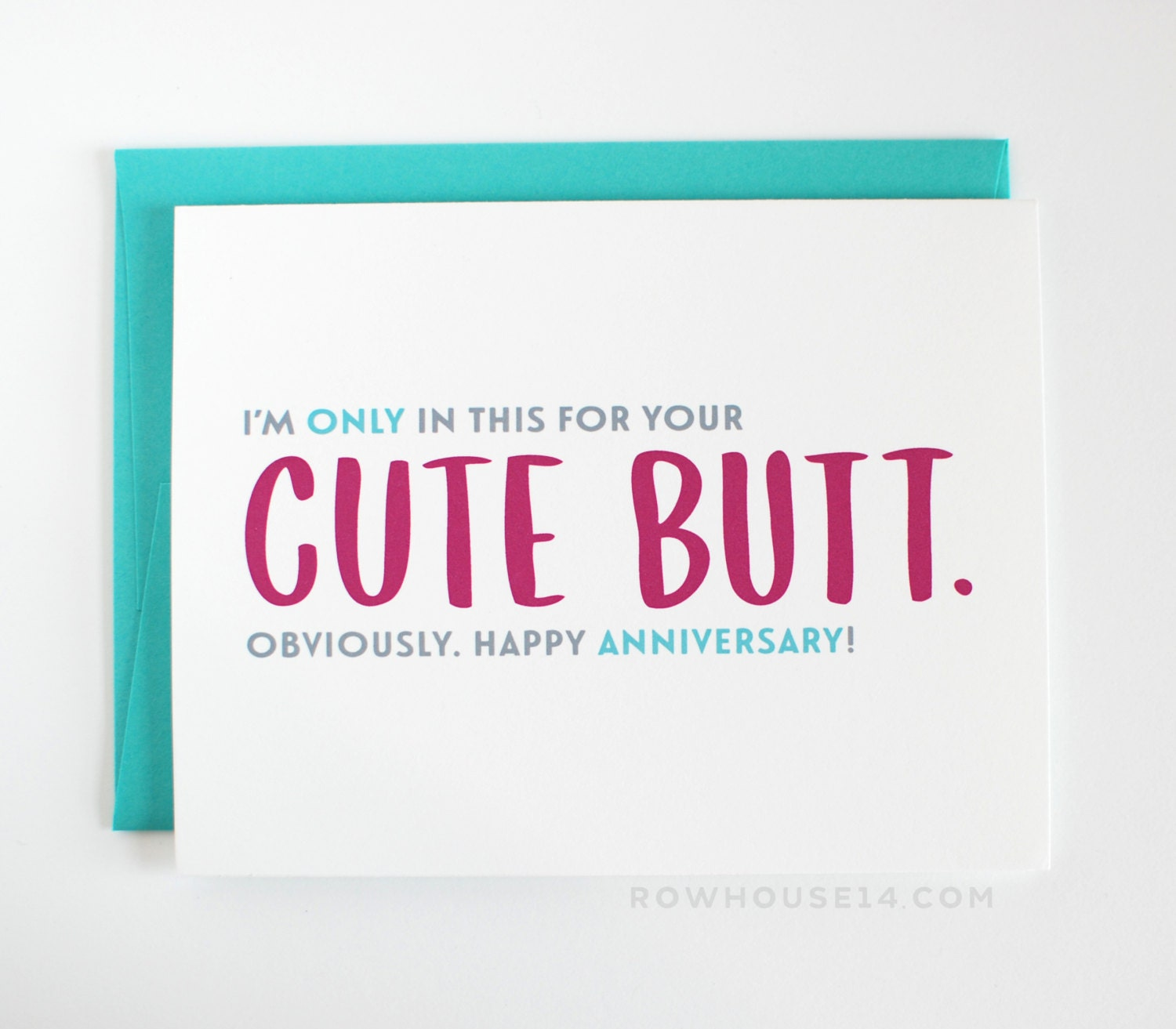 cute one year anniversary cards