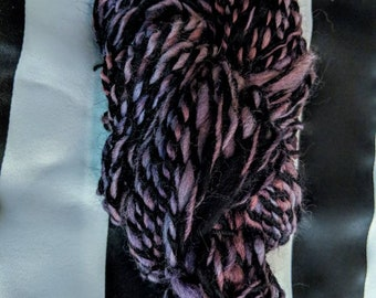 Morticia Artistic Yarn weaving Crochet