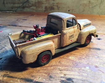 vintage toy welder Ford F-100 work truck