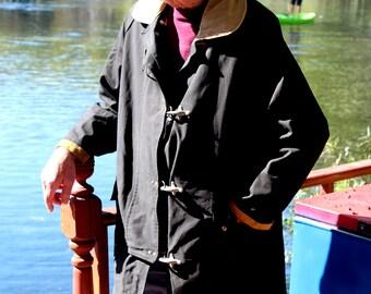 Rare Vintage Waterman's Toggle Coat