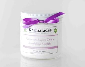 24 oz. Lavender Sugar Cookie Scrubbing Souffle
