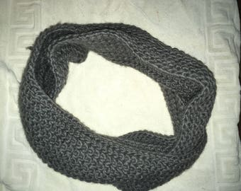 Adult Grey Infinity Scarf