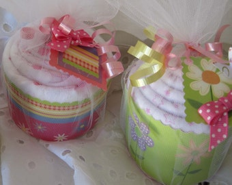 Baby Blanket Cupcake, Cute New Baby Gift