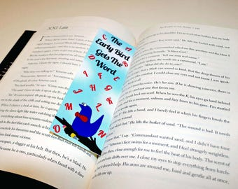 Bookmark, Monster Bookmark, Writing Bookmark, Unique Bookmark, Planner Bookmark, Gifts for Writers, Writer Bookmark