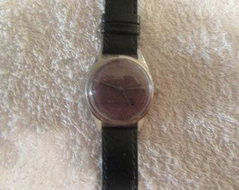 ON SALE>>>>>>vintage men wind up HMT indian watch....