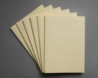 Bookbinding paper Lined refill paper Short grain paper 500 sheets Papercrafting paper Journal refill Lined journal paper Bookbinding Lined