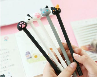 CAT and cat paw pen...