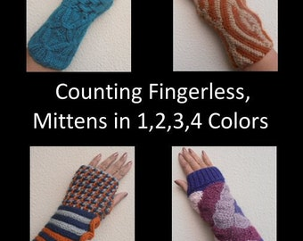 Knitting ebook full of Fingerless Mitten Patterns