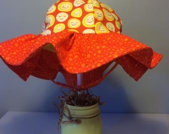 Baby toddler sun hat