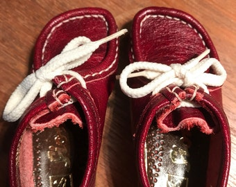 2 few Sioux Grashopper doll shoes