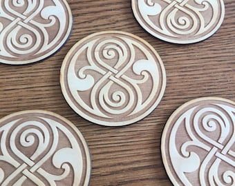 Doctor Who Rassilon Coasters
