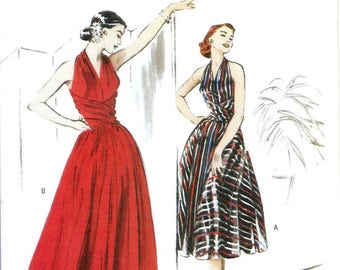 Butterick B4919 Retro 52' Misses Evening Dress Sewing Pattern UNCUT