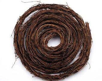 Grapevine Twig Garland- 9 feet- Natural Twig Grapevine