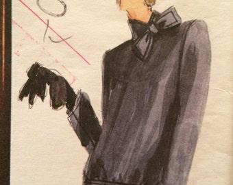 Vogue Paris Original Suit by Givenchy***Vogue 1769***Size 12  Bust 34
