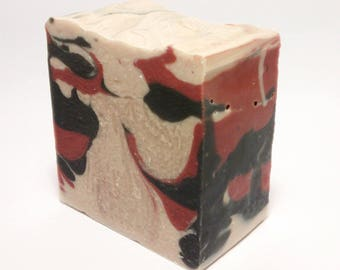 Peppermint Twist - Artisan Soap with Shea Butter and Cocoa Butter